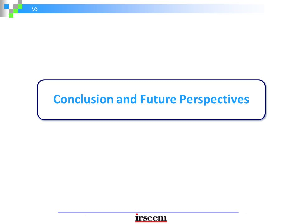 Conclusion and Future Perspectives
