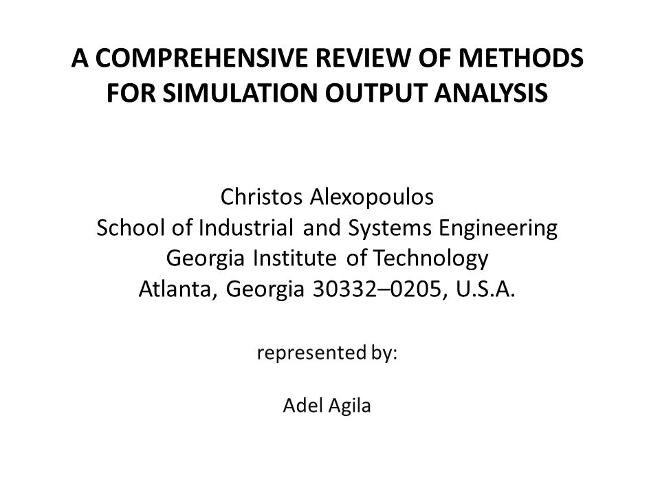 review analysis and simulation of a History horstemeyer 2009, 2012 presented a historical review of the different disciplines (solid mechanics, numerical methods, mathematics, physics, and materials science) for solid.