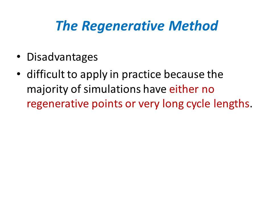 The Regenerative Method