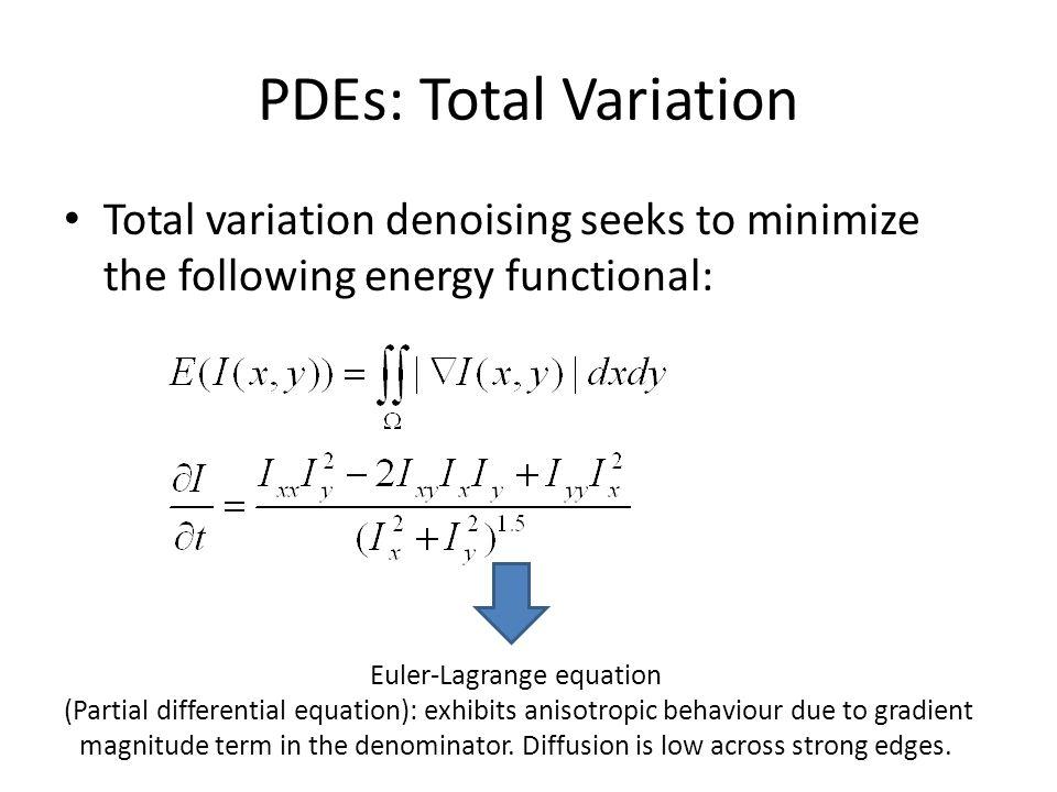 Euler-Lagrange equation