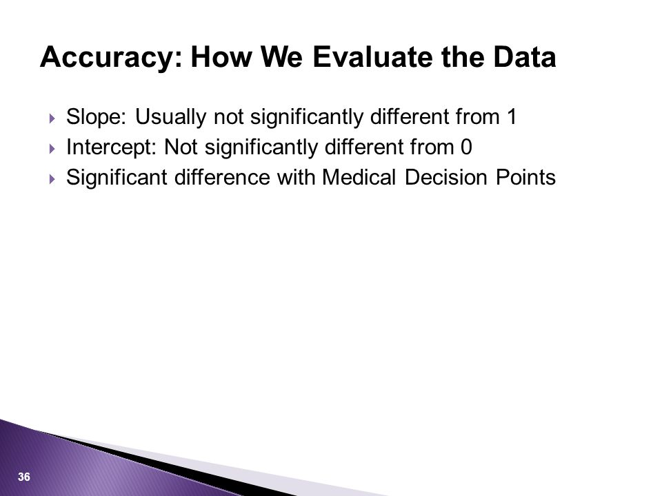 Accuracy: How We Evaluate the Data