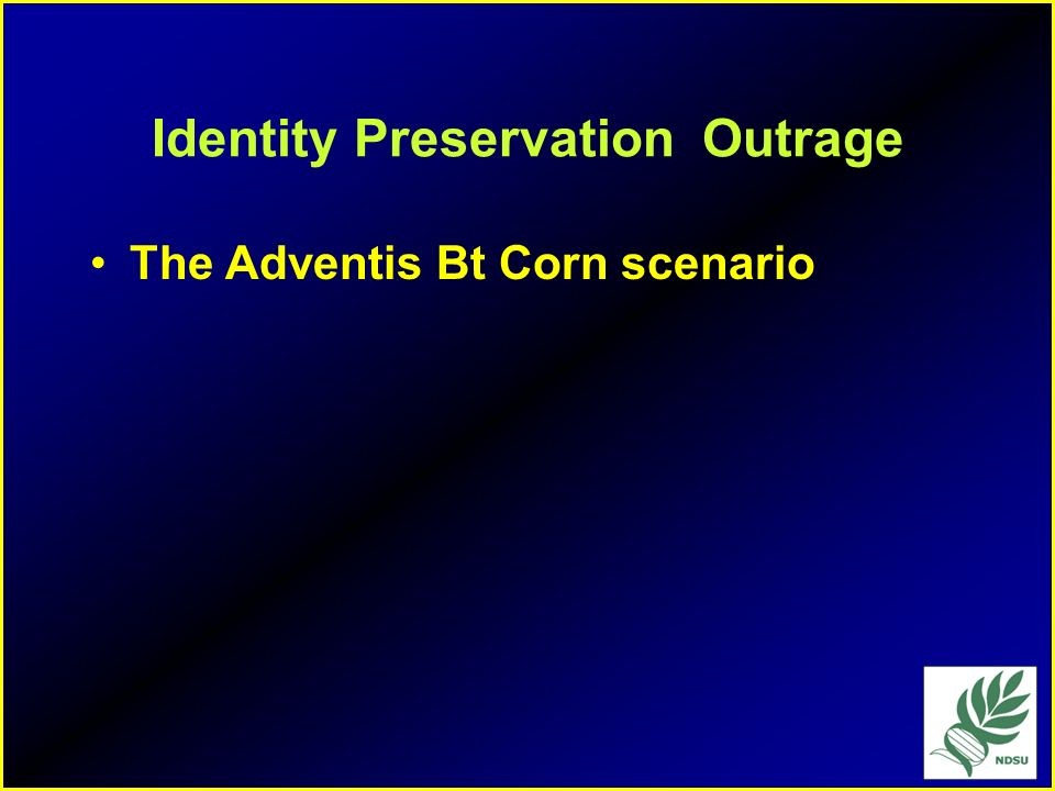 Identity Preservation Outrage