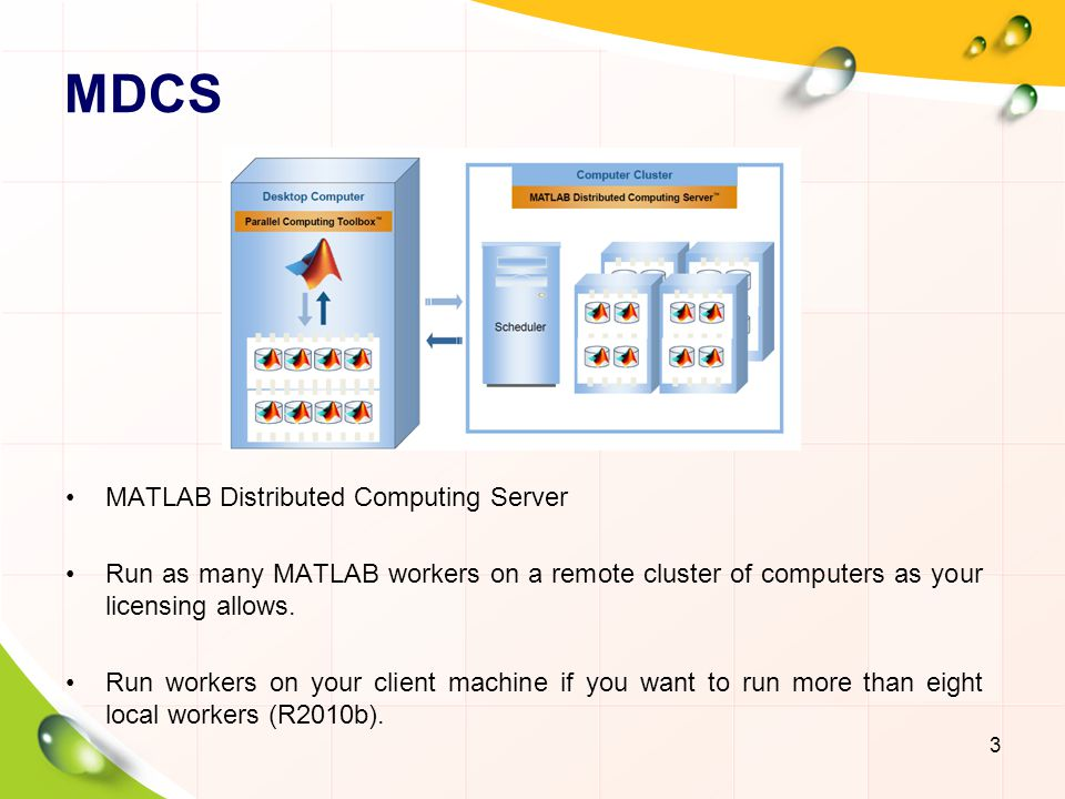 MDCS MATLAB Distributed Computing Server