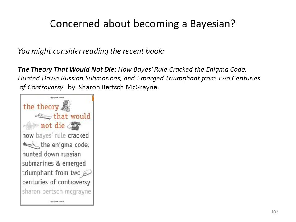 Concerned about becoming a Bayesian