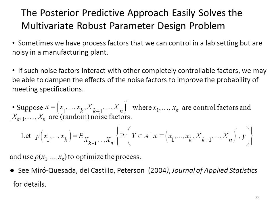 The Posterior Predictive Approach Easily Solves the