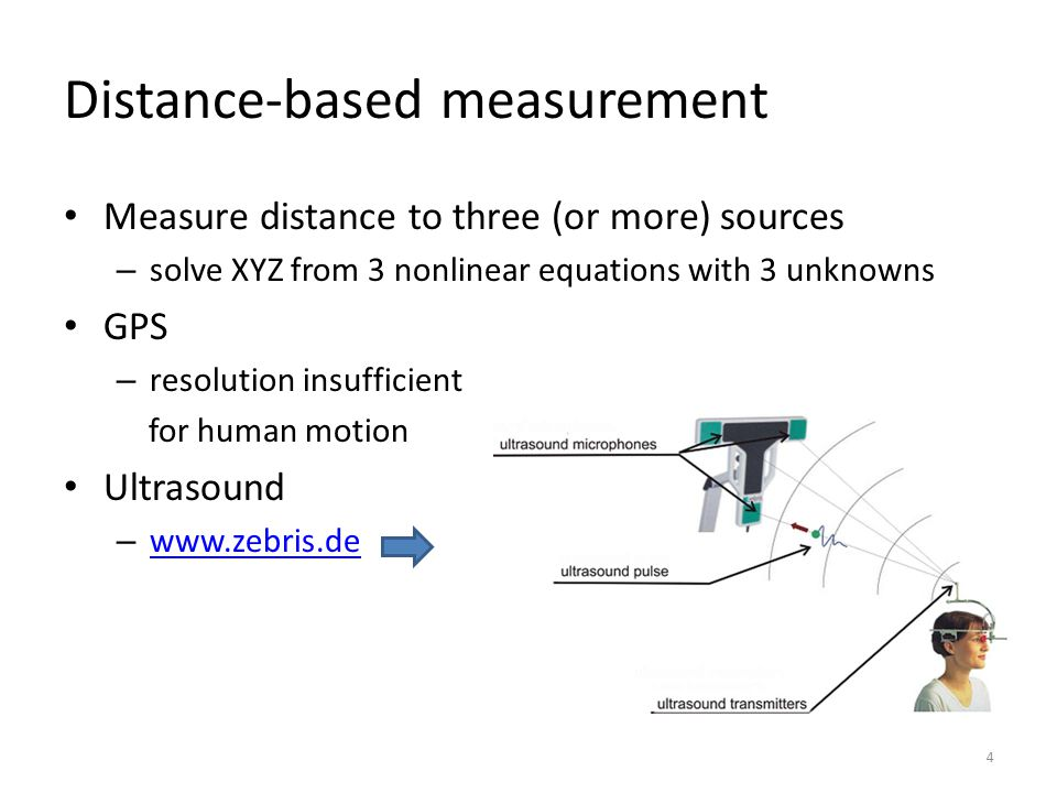Distance-based measurement