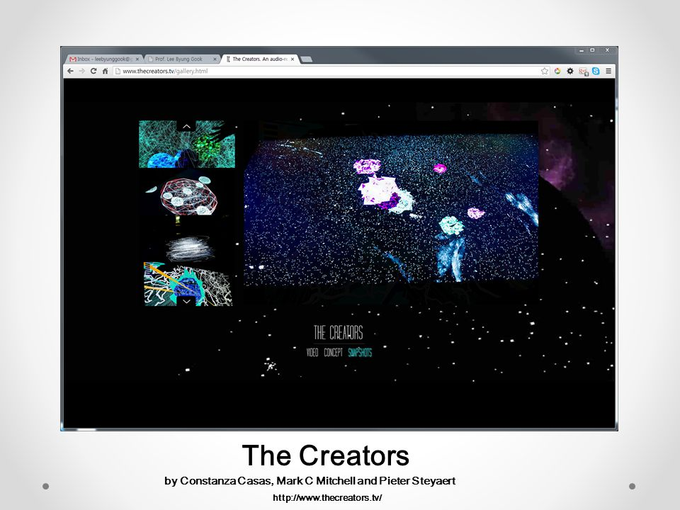 The Creators by Constanza Casas, Mark C Mitchell and Pieter Steyaert
