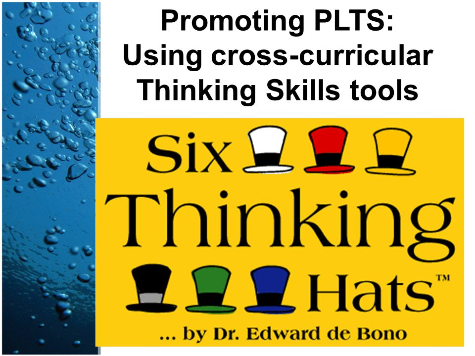 Using cross-curricular Thinking Skills tools