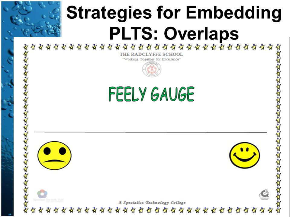 Strategies for Embedding PLTS: Overlaps
