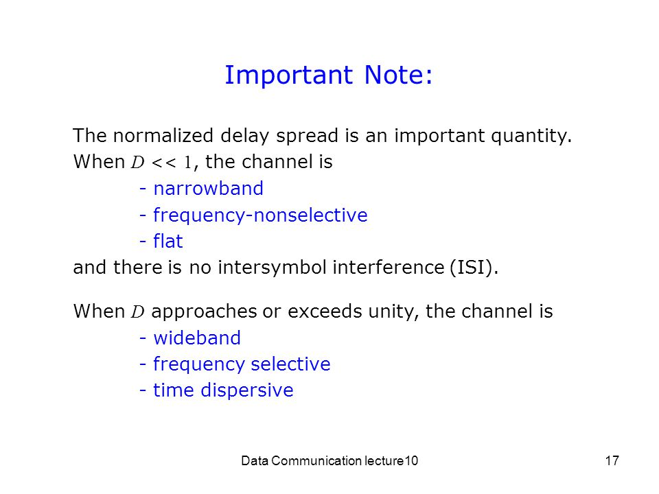 Data Communication lecture10