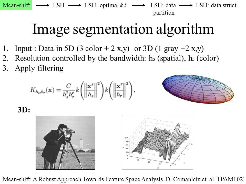 Image segmentation algorithm