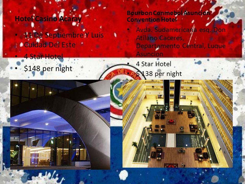 11 De Septiembre Y Luis Cuidad Del Este 4 Star Hotel $148 per night