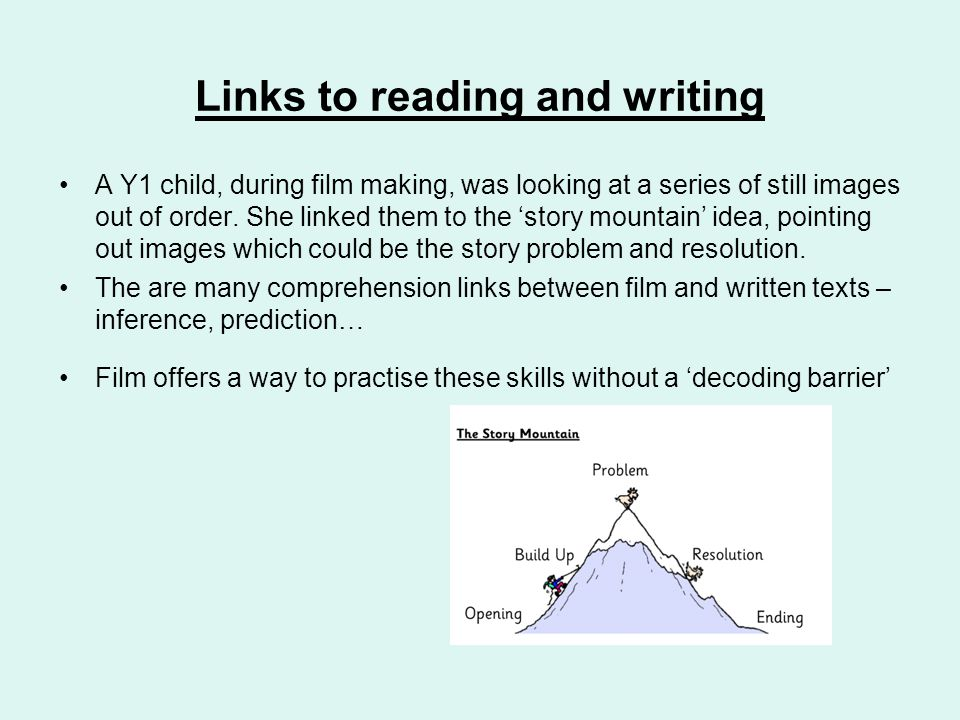Links to reading and writing