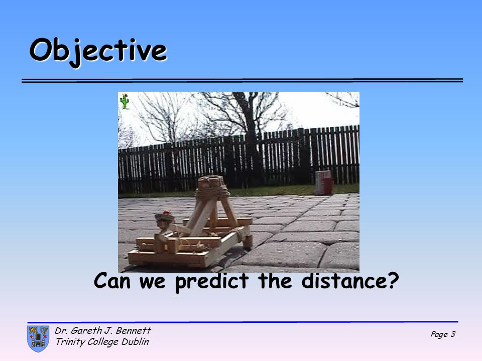 Can we predict the distance