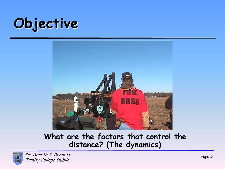 What are the factors that control the distance (The dynamics)