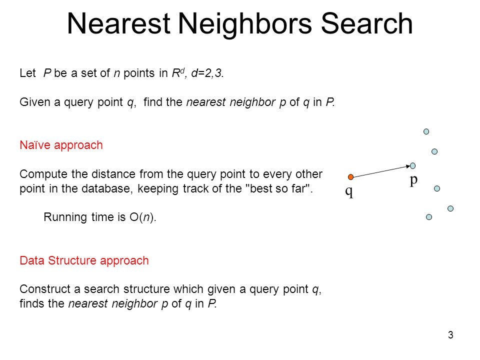 Nearest Neighbors Search
