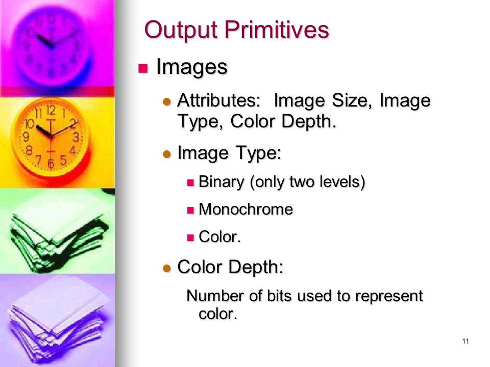 Output Primitives Images