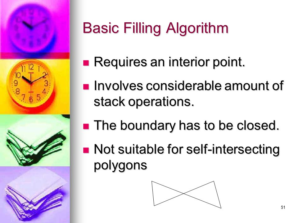 Basic Filling Algorithm