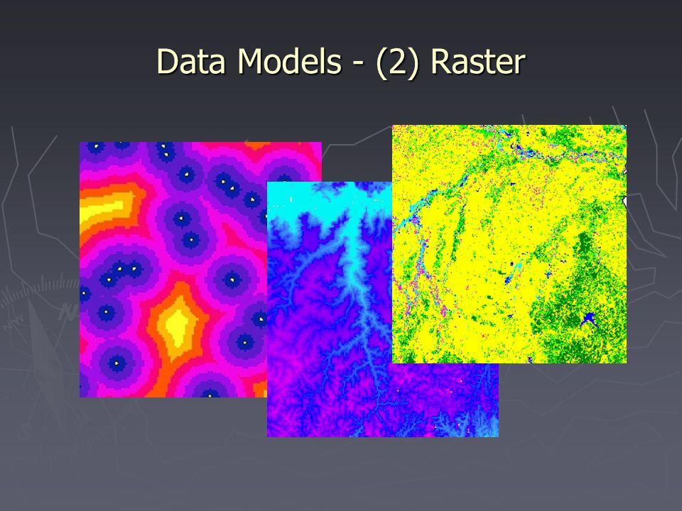 Data Models - (2) Raster