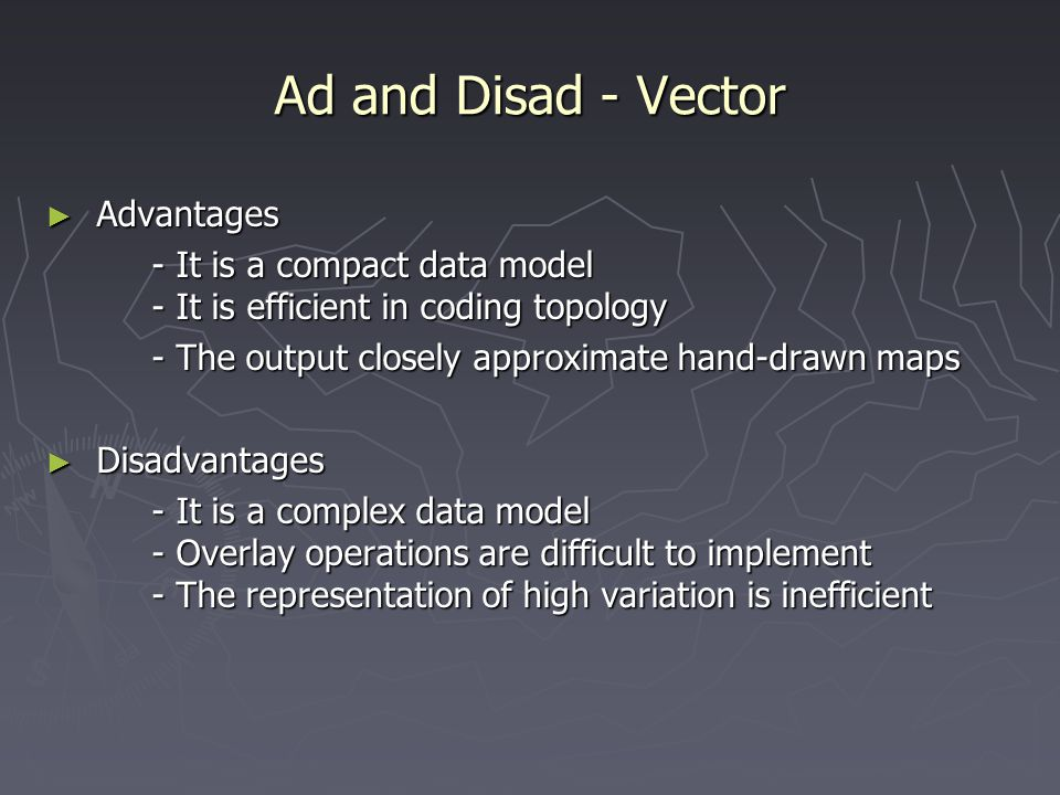 Ad and Disad - Vector Advantages