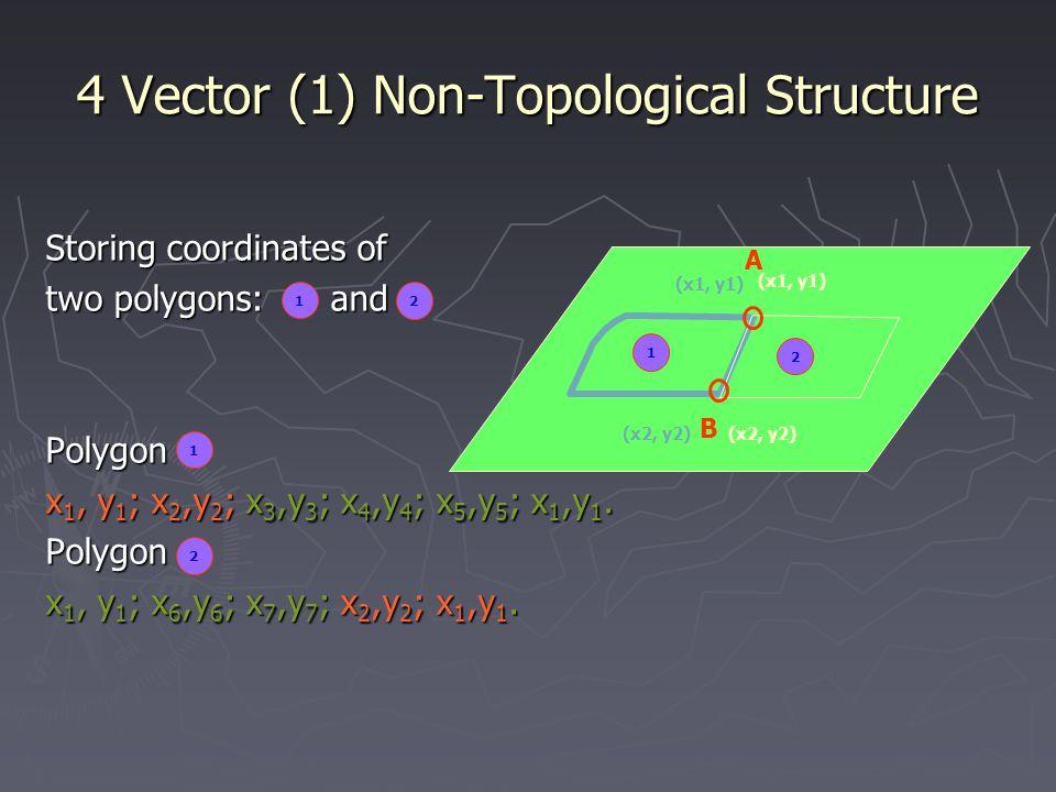 4 Vector (1) Non-Topological Structure