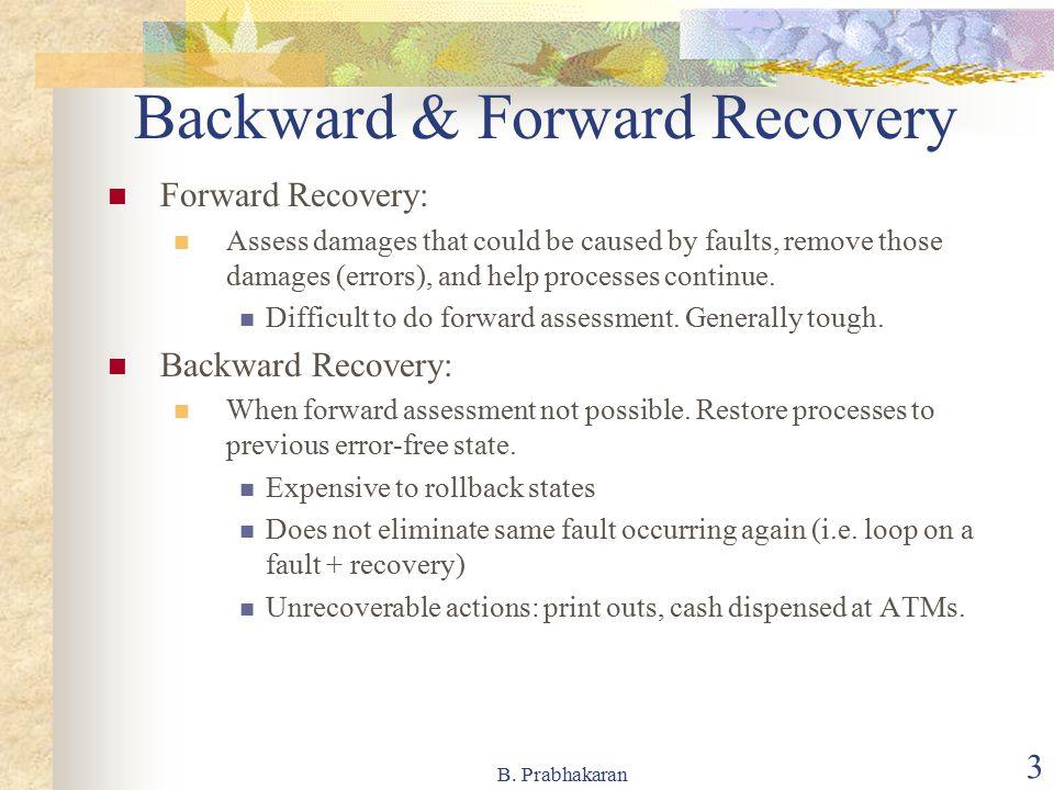 Backward & Forward Recovery