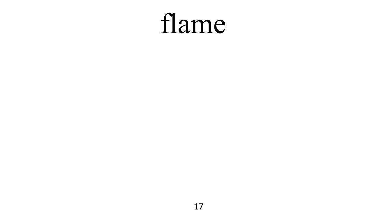 flame 17