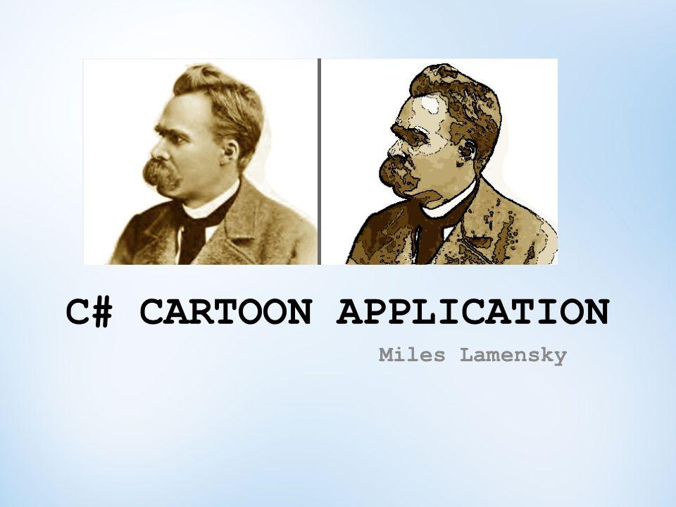 C# CARTOON APPLICATION