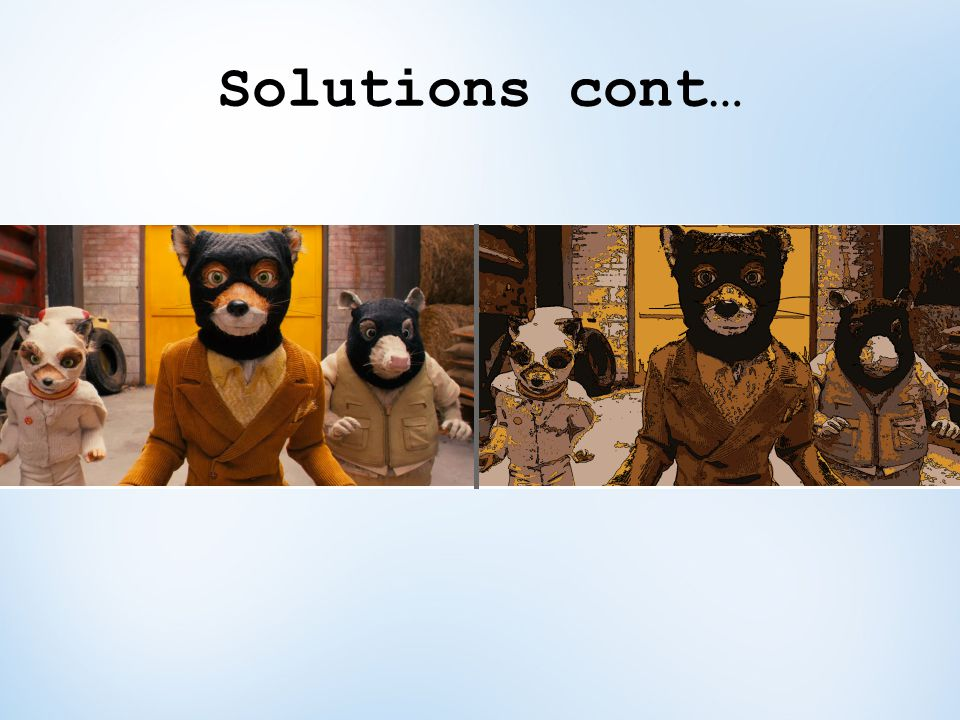 Solutions cont…