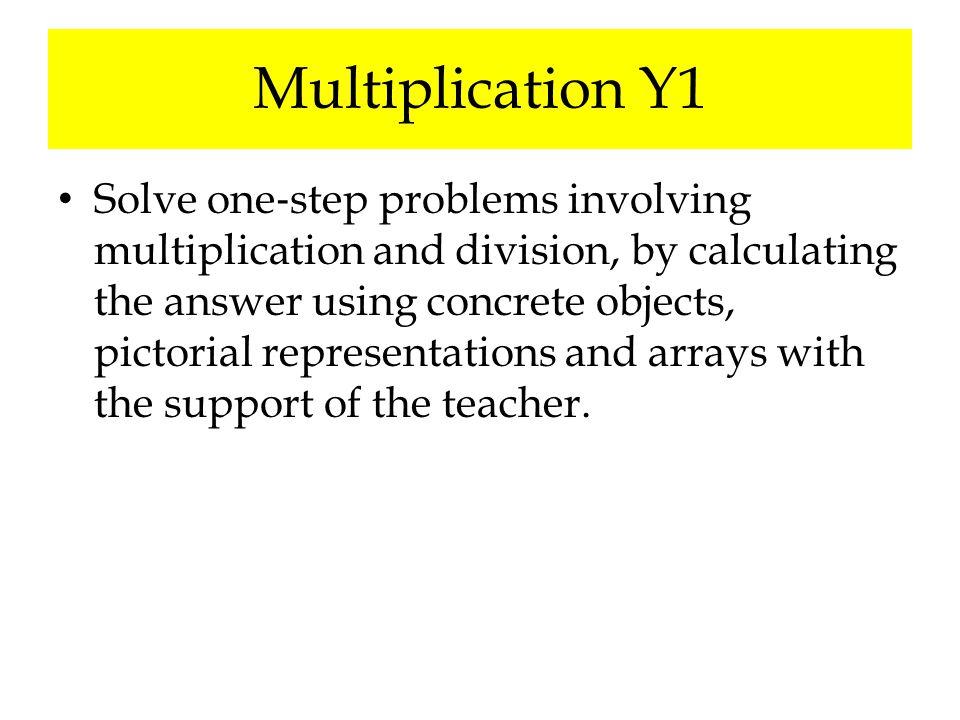 Multiplication Y1