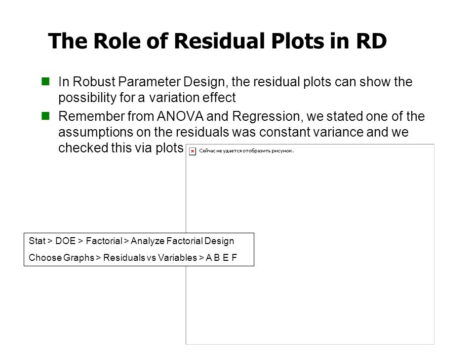 The Role of Residual Plots in RD