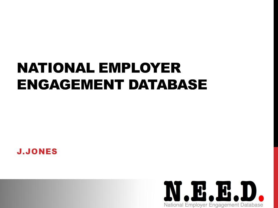 National Employer Engagement Database