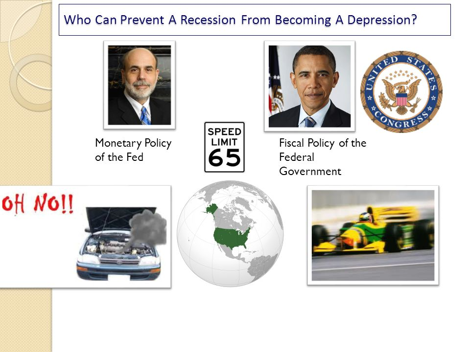Who Can Prevent A Recession From Becoming A Depression