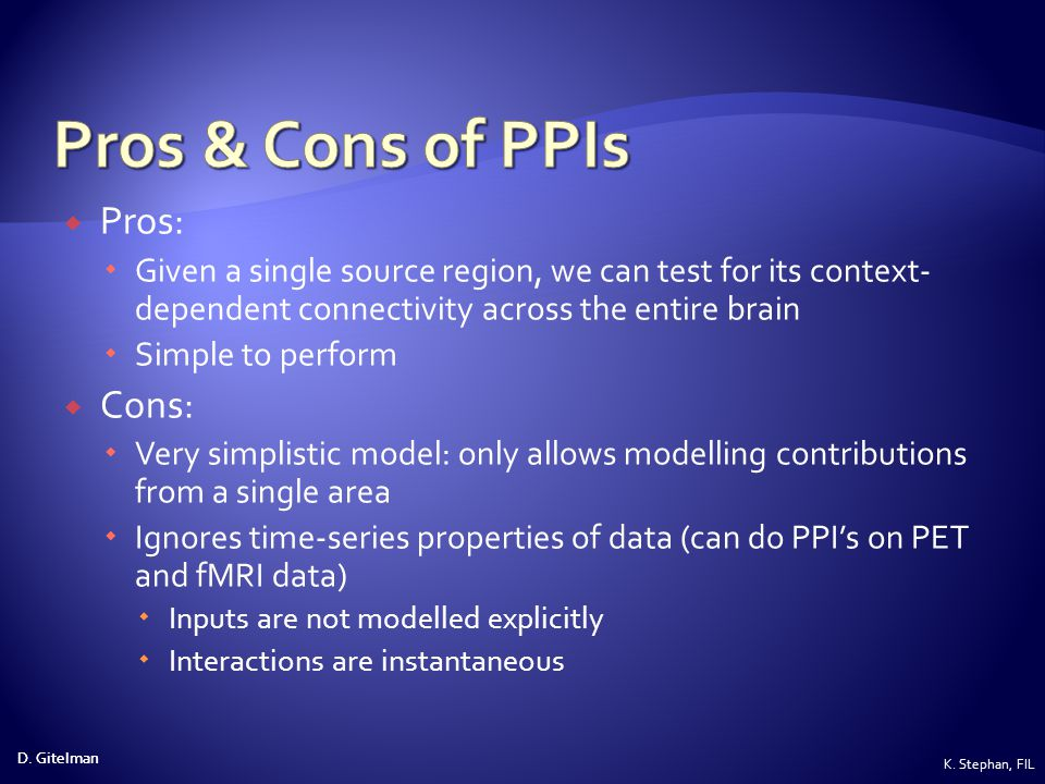 Pros & Cons of PPIs Pros: Cons: