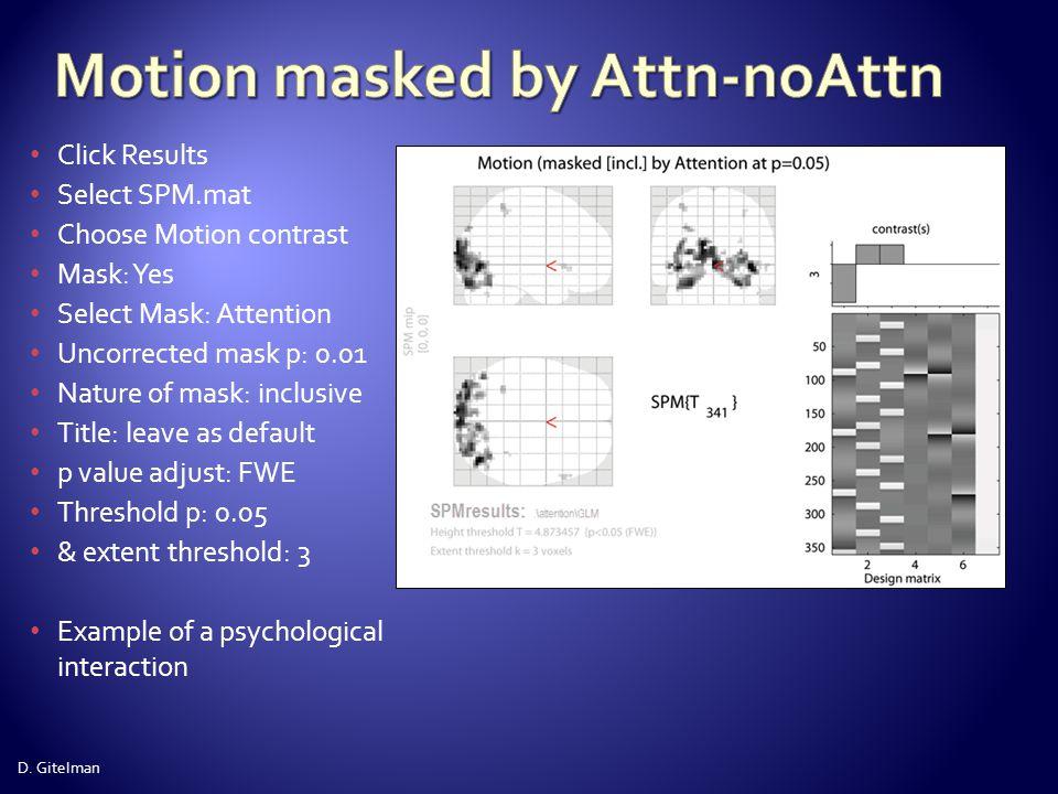 Motion masked by Attn-noAttn