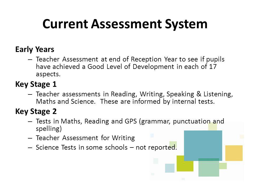 Current Assessment System