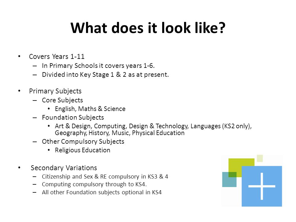 What does it look like Covers Years 1-11 Primary Subjects