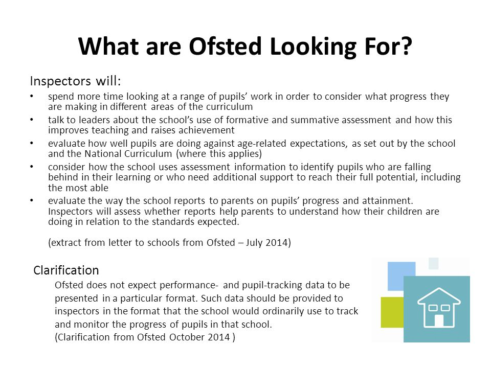 What are Ofsted Looking For