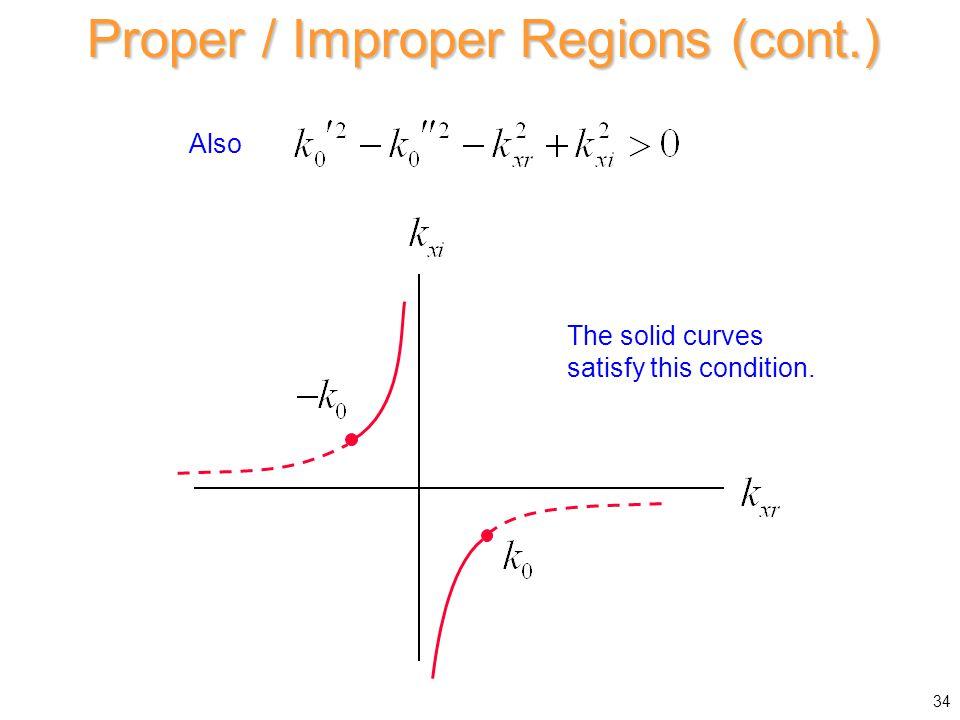 Proper / Improper Regions (cont.)
