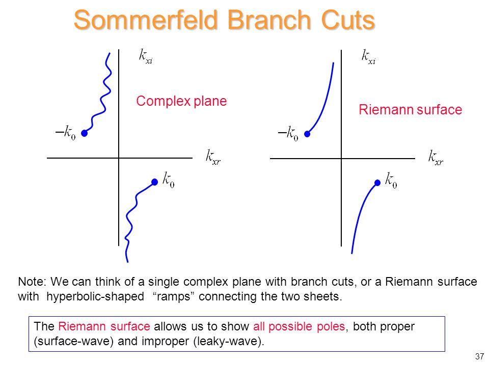Sommerfeld Branch Cuts