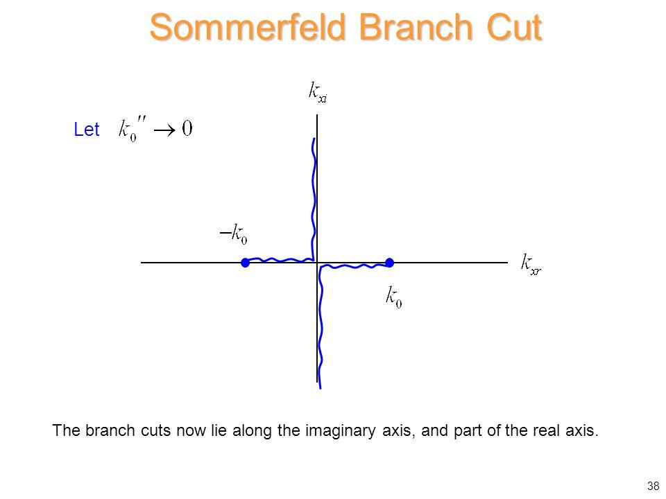 Sommerfeld Branch Cut Let
