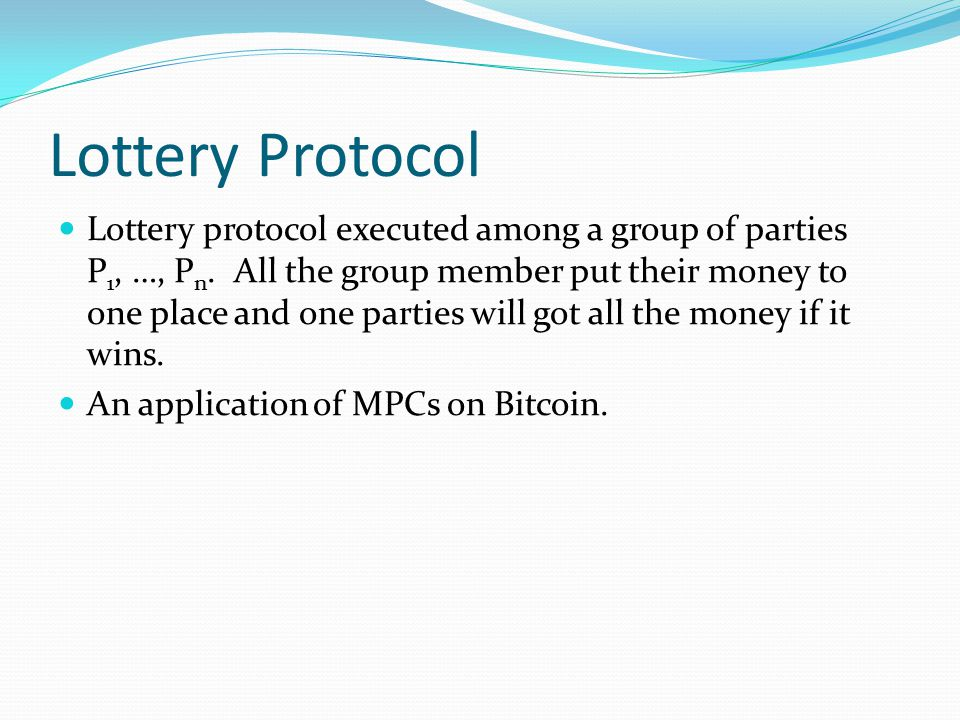 Lottery Protocol