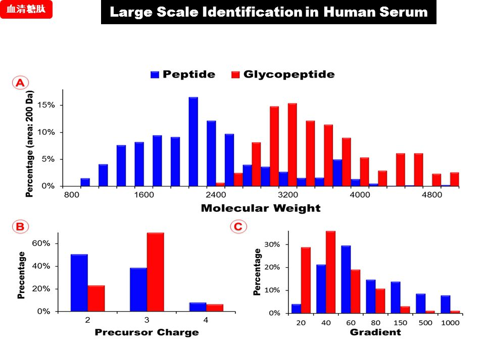 Large Scale Identification in Human Serum