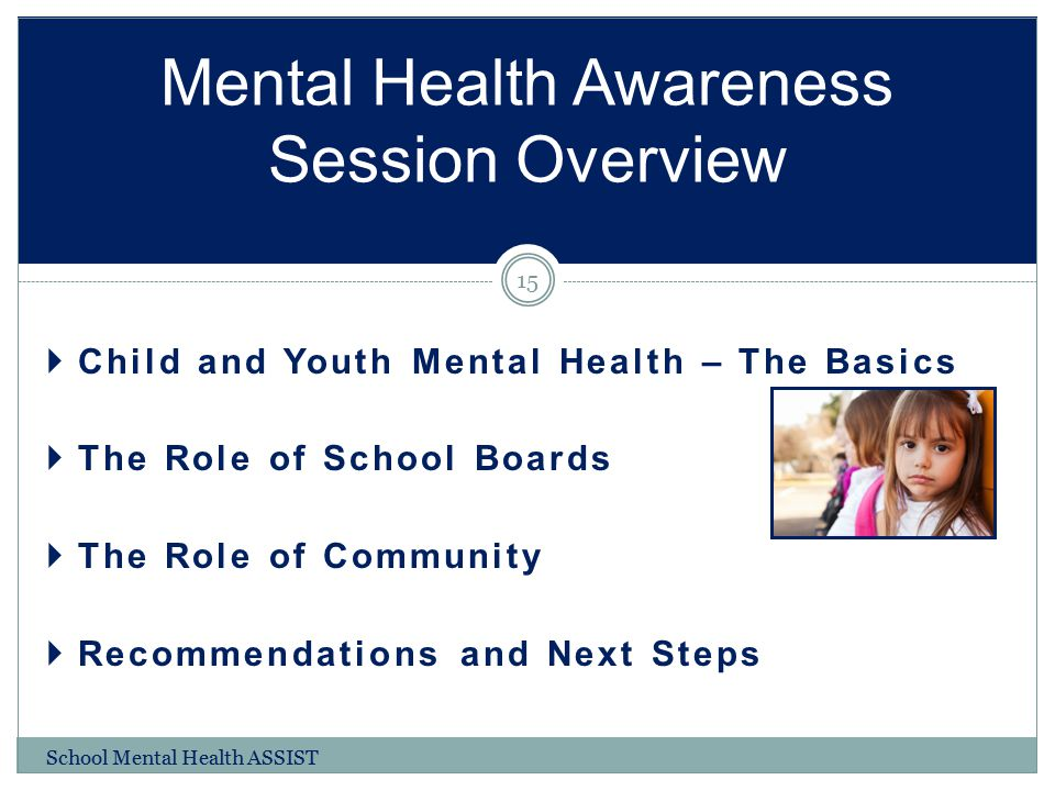 Mental Health Awareness Session Overview