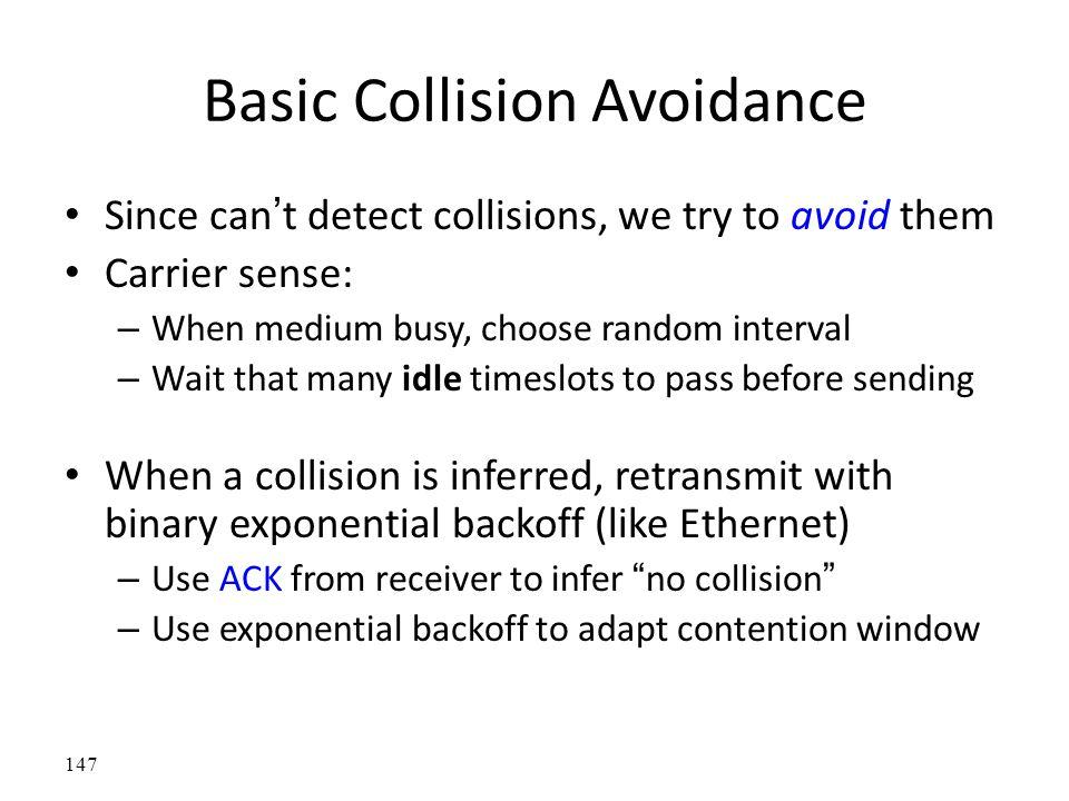 Basic Collision Avoidance