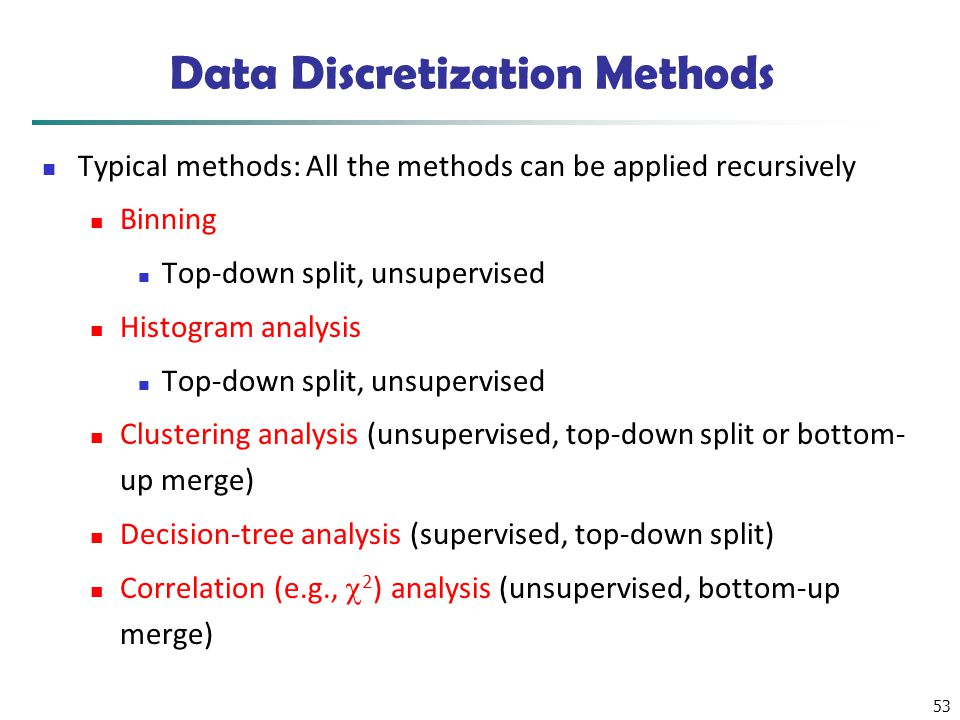 Data Discretization Methods