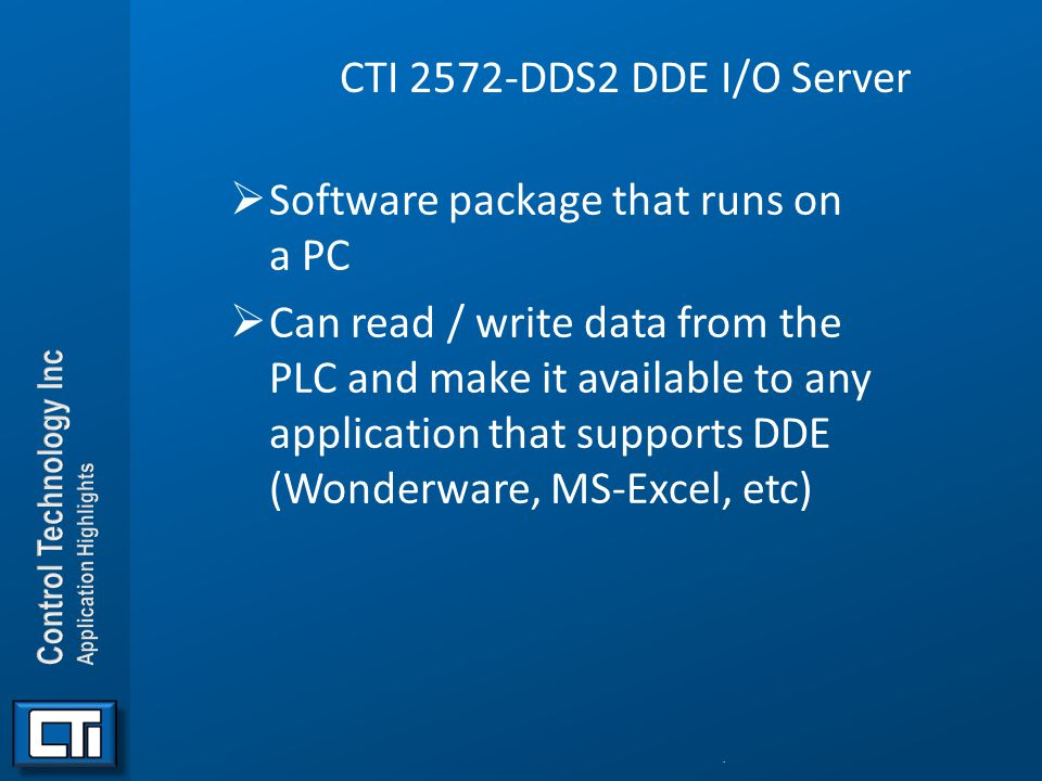 Software package that runs on a PC