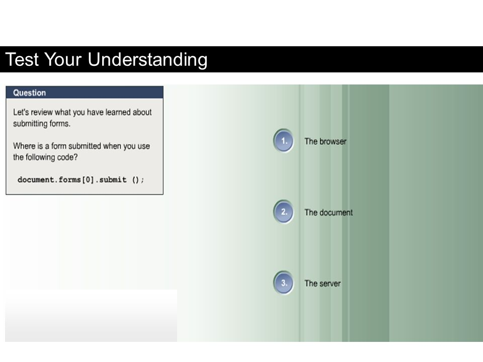 Test Your Understanding