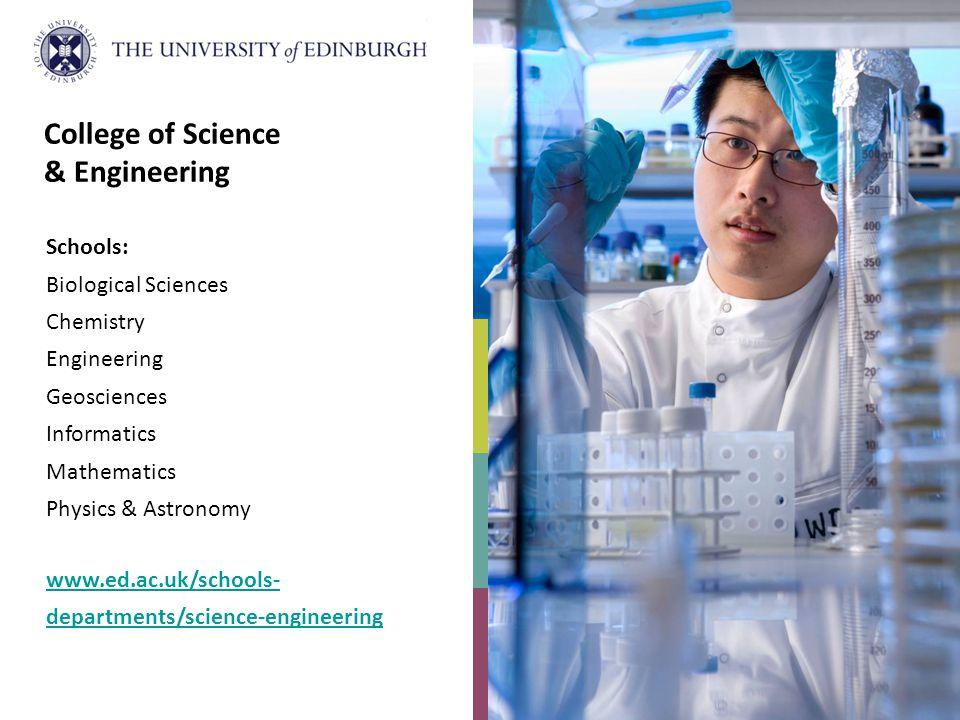 College of Science & Engineering