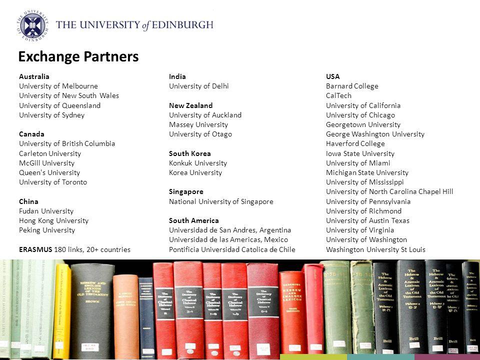 Exchange Partners Australia University of Melbourne